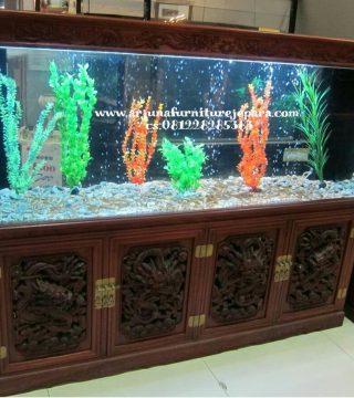 furniture aquarium. Lemari Aquarium Jati Ukir Jepara Furniture