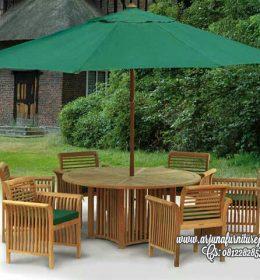 Jual Kursi Taman Model Payung
