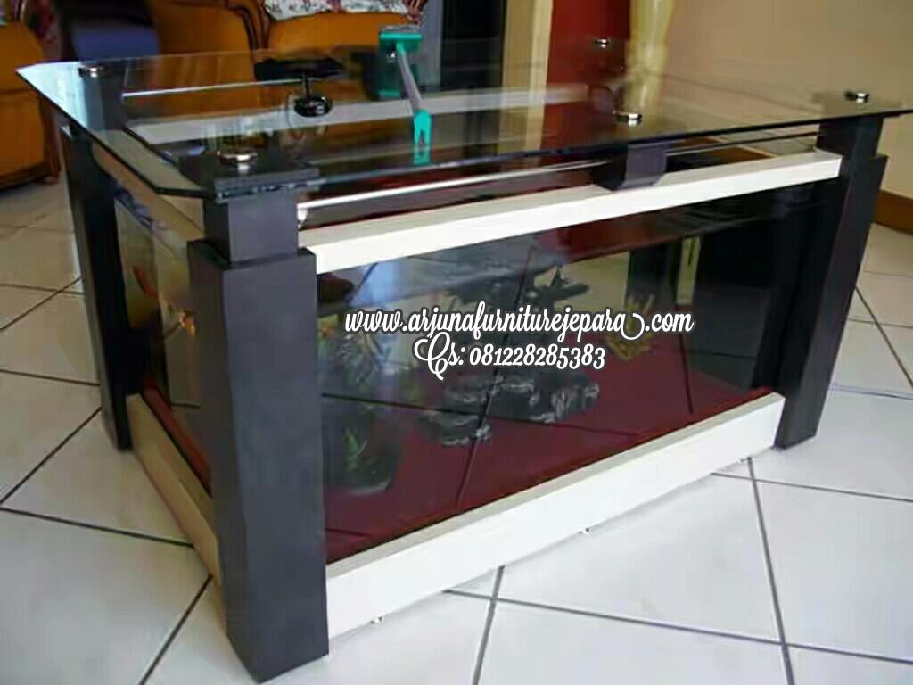 Meja Aquarium Model Terbaru Arjuna Furniture Jepara Mebel Jati Ukiran