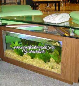 Harga Meja Aquarium Segi Tiga Minimalis