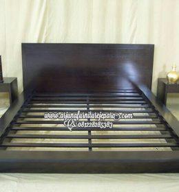 Jual Tempat Tidur Minimalis Jati Jepara