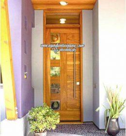 Gambar Pintu Rumah Utama Kayu Jati