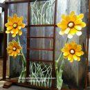 Sketsel Penyekat Ruangan Motif Bunga Terbaru