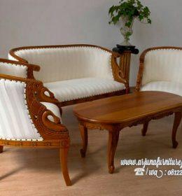 Jual Kursi Tamu Sofa Ukir Model Burung
