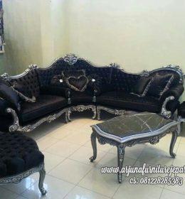 Jual Kursi Tamu Sofa Ukir Model Sudut