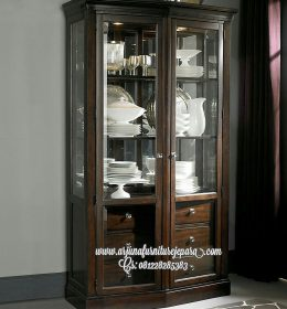 Model Lemari Pajangan Dapur Minimalis