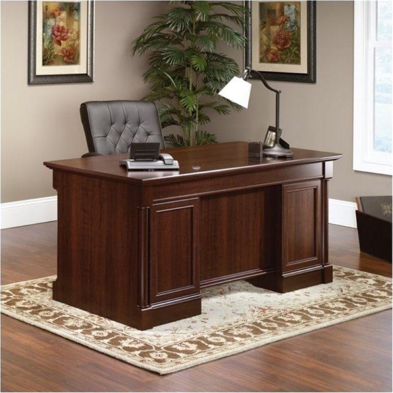 Model Meja Kantor Kayu