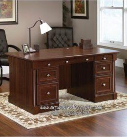 Harga Meja Kantor Kayu Minimalis