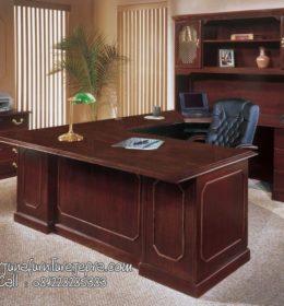 Model Meja Kantor Minimalis Kayu