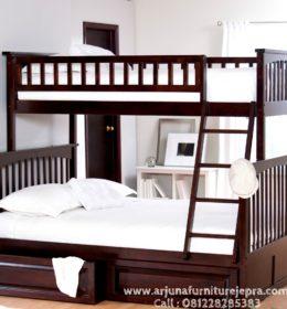 Harga Tempat Tidur Tingkat Minimalis Kayu
