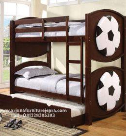Harga Tempat Tidur Tingkat Minimalis Jati