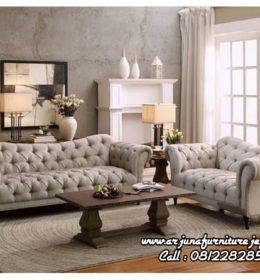 Kursi Tamu Sofa Minimalis Jati Model Classic
