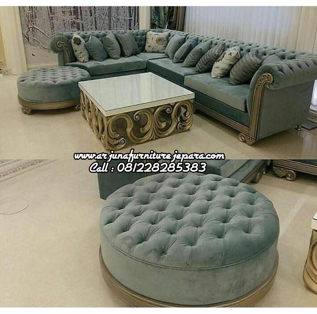 Harga Set Kursi Tamu Sofa Sudut Classi