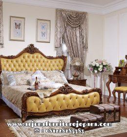 Model Tempat Tidur Jati Ukir Klasik Mewah