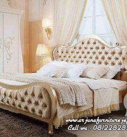 Gambar Tempat Tidur Klasik Mewah Jepara