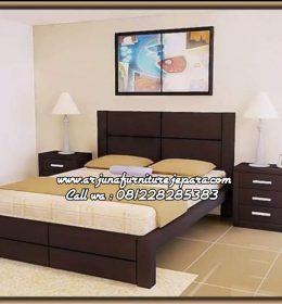 Harga Tempat Tidur Kayu Minimalis Terbaru