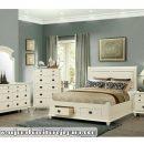 Gambar Tempat Tidur Laci Minimalis Putih Duco