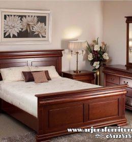 Harga Tempat Tidur Minimalis Kayu Jati Modern