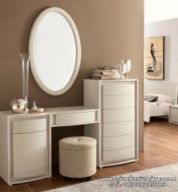 Harga Meja Rias Minimalis Klasik Putih Duco Jepara