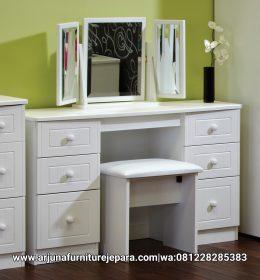 Harga Meja Rias Minimalis Putih Meja Makeup Putih Duco