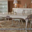 Set Meja Makan Luxury Klasik Furniture Terbaru