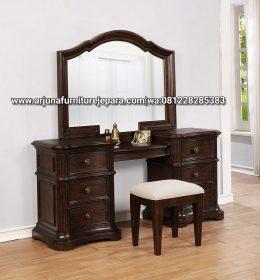 Meja Rias Classic Jati Furniture Jepara Meja Make Up Klasik