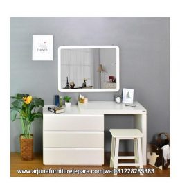 Meja Rias Minimalis Putih Terbaru Meja Make Up Modern