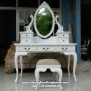 Meja Rias Putih Classic Furniture Jepara