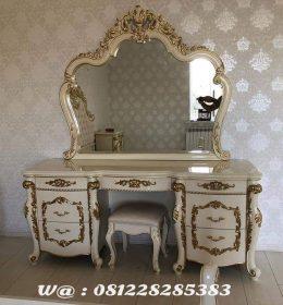Meja Rias Ukiran Klasik Furniture Jepara Meja Rias Classic