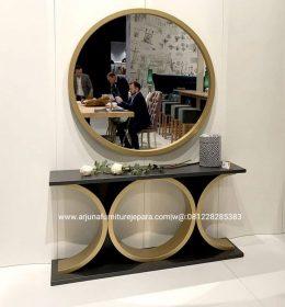 Meja Konsul Cermin Minimalis Terbaru Meja Console Cermin Modern