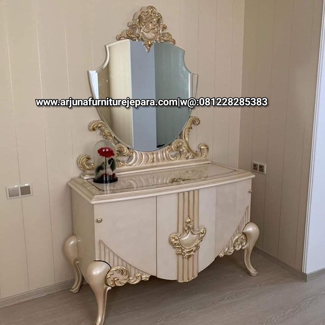 Meja Rias Luxury Classic Duco Meja Make Up klasik Terbaru