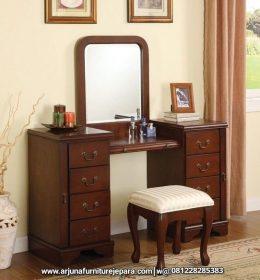 Produk Meja Rias Jati Minimalis Furniture Jepara