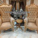 Set Kursi Santai Sofa Syahrini Kursi Teras Klasik Mewah