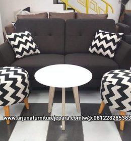 Sofa Santai Retro Terbaru Sofa Keluarga Kursi Tamu Modern
