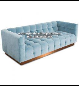 Sofa Ruang Keluarga Minimalis Kursi Santai Jati Jepara Murah