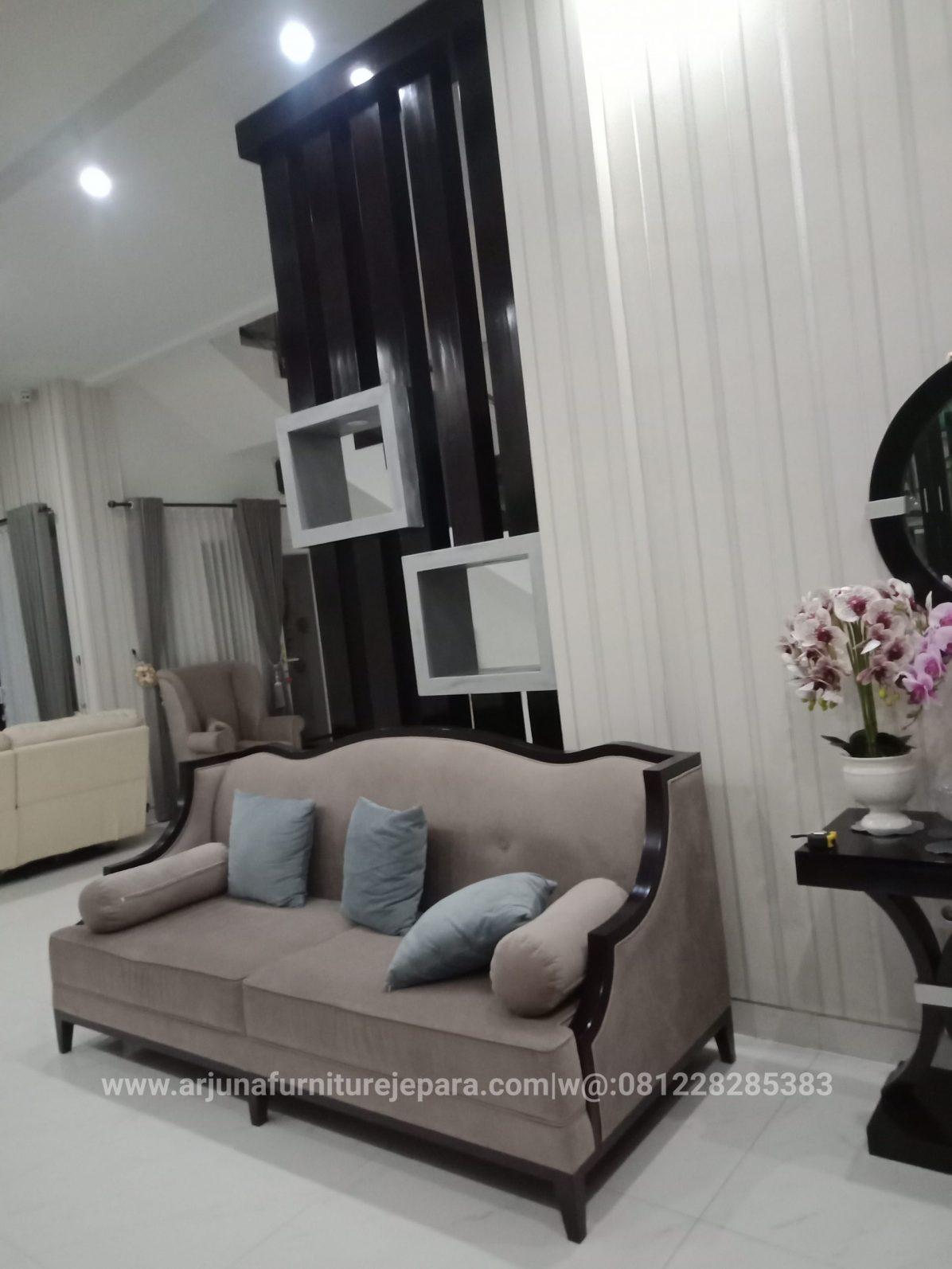 Sofa Ruang Keluarga Sofa Santai Minimalis Classic Murah