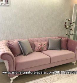 Sofa Santai Depan Tv Sofa Classic Ruang Keluarga Murah