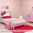 Harga Set Dipan Anak Hello Kitty Tempat Tidur Anak Shabby
